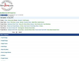 mr-punjab.com screenshot