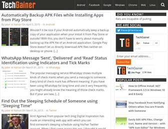 techgainer.com screenshot