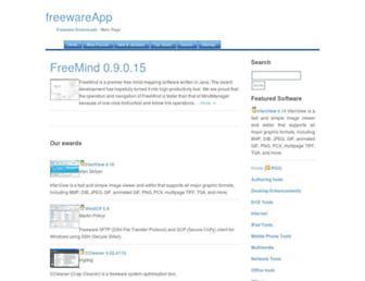 freewareapp.com screenshot