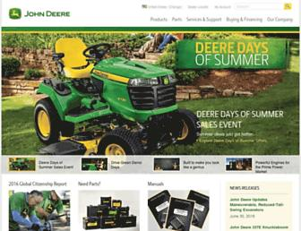 Thumbshot of Deere.com