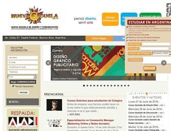 nuevaescuela.net screenshot