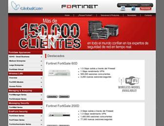 fortinet.globalgate.com.ar screenshot