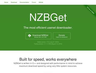 nzbget.net screenshot