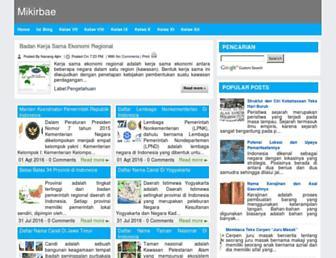 mikirbae.com screenshot