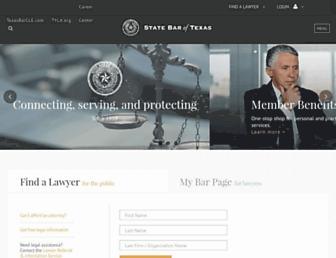 Thumbshot of Texasbar.com