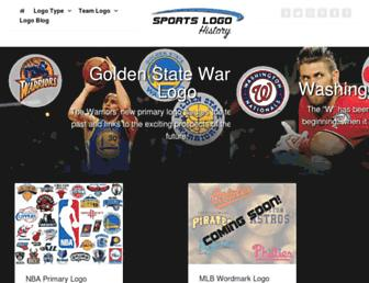 sportslogohistory.com screenshot