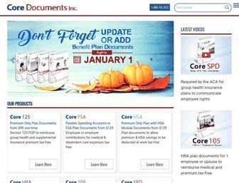 coredocuments.com screenshot