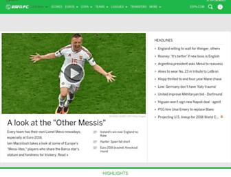 Thumbshot of Espnfc.us