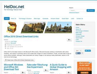 heidoc.net screenshot