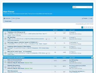 atari-forum.com screenshot