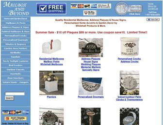 mailboxandbeyond.com screenshot