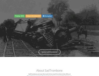 Thumbshot of Sadtrombone.com