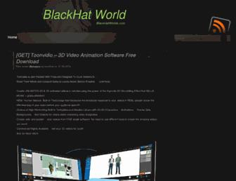 Thumbshot of Blackhatworldx.com