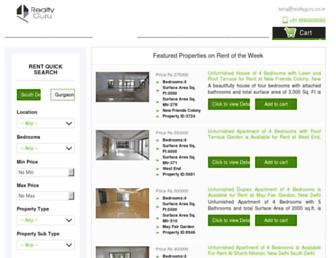 realtyguru.co.in screenshot