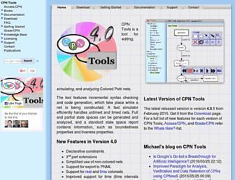 cpntools.org screenshot