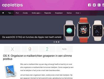 appletips.nl screenshot