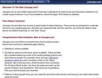 litscape.com screenshot