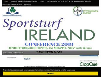 gcsai.org screenshot