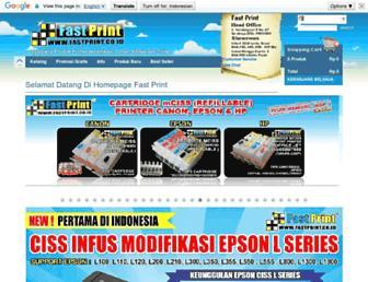 fastprint.co.id screenshot