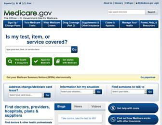 Thumbshot of Medicare.gov