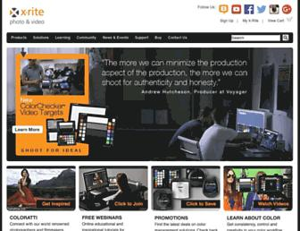 xritephoto.com screenshot