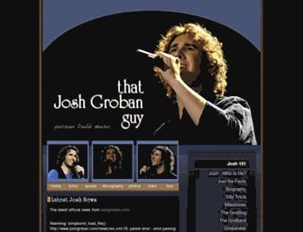 thatjoshgrobanguy.com screenshot