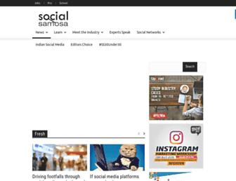 socialsamosa.com screenshot
