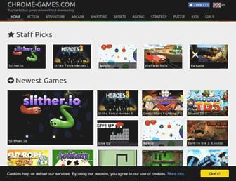chrome-games.com screenshot