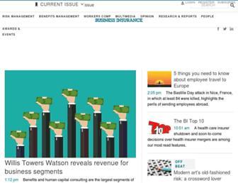 businessinsurance.com screenshot