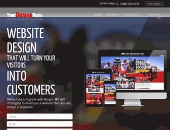 yourdesignguys.com screenshot