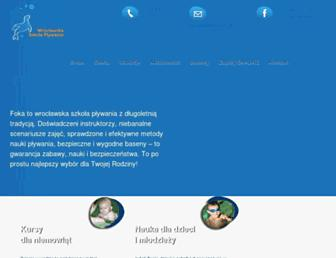 Main page screenshot of foka.info.pl