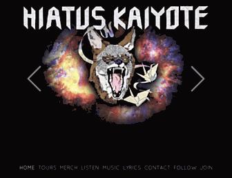 hiatuskaiyote.com screenshot