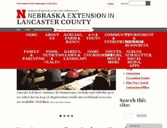 lancaster.unl.edu screenshot