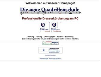 quadrillenschule.de screenshot