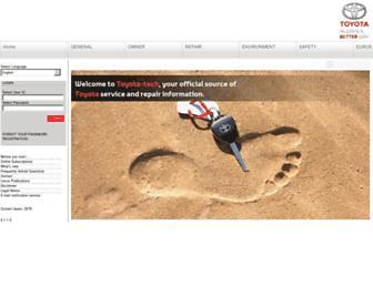 toyota-tech.eu screenshot