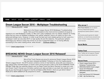 firsttouchgames.com screenshot