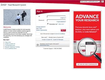Thumbshot of Lexis.com