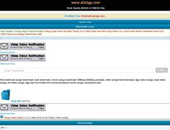 hindimp3.a2z3gp.com screenshot