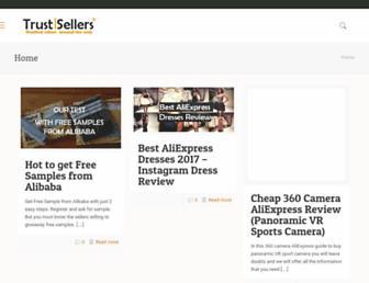 trustsellers.com screenshot