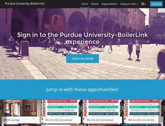 boilerlink.purdue.edu screenshot