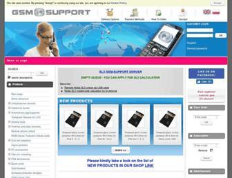 gsm-support.net screenshot