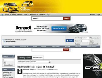 Main page screenshot of fitfreak.net