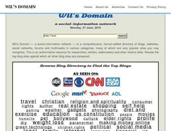 Thumbshot of Wilsdomain.com