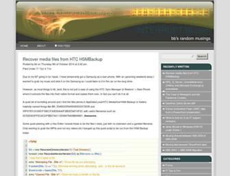 blog.interrupt3h.com screenshot