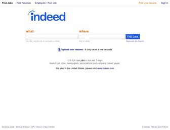 Screenshot for indeed.co.in
