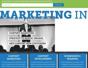 Thumbshot of B2bmarketinginsider.com