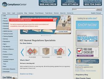 thecompliancecenter.com screenshot