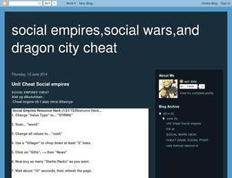 dragoncity-cheater.blogspot.com screenshot