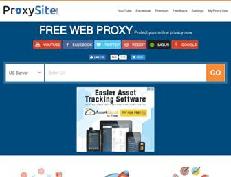 Thumbshot of Proxysite.com