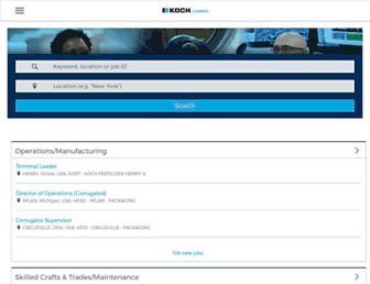 kochcareers.referrals.selectminds.com screenshot